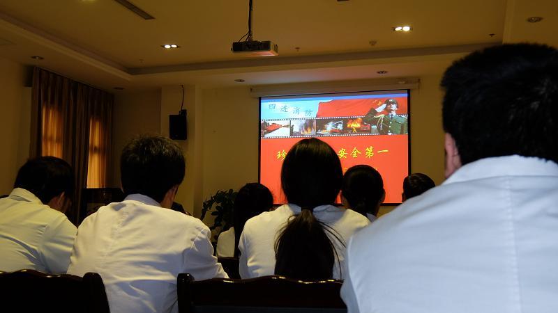 成都现代医院举办职工消防安全知识培训讲座